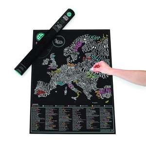 Luckies gourmet scratch map for 16.99 free c&c or £3.99 standard del at menkind