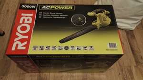 Ryobi RBV3000CSV Blower-Vac with Metal Mulching Blade, 3000W £24.93 @ Homebase