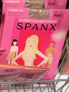 Spanx normal  £4.99 in Home Bargains