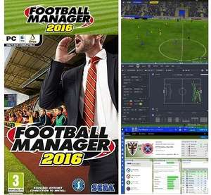Football Manager 2016 £15 (or 2 for £25) @ Sutton United FC