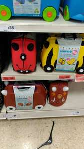 Trunki (two types) Reduced to clear £20 @ Sainsbury's Norwich