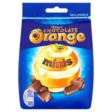 Mini Terrys Chocolate Orange Smarties Tubes GBP005 Instore At Tesco Dorchester
