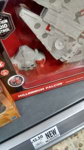 Star Wars Millennium Falcon Remote Control - RRP £59.99 NOW £12.50 instore at Tesco