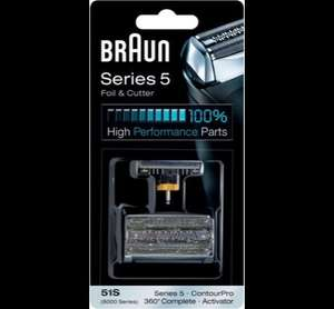 Braun 51S Series 5 Heads and Foil Cutter Replacement Pack £8.99 @ Argos