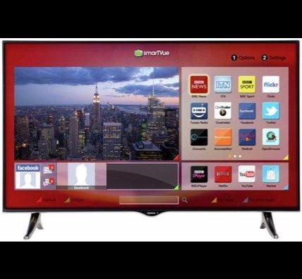 Hitachi 43 Inch UltraHD 4K Freeview HD Smart WiFi LED TV - Black. £299.99 - @ Argos Ebay