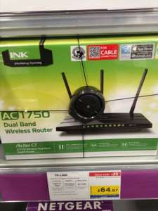 pcworld/currys tplink archer c7 cable router with wireless ac1750, gigabit ports and USB. £64.97