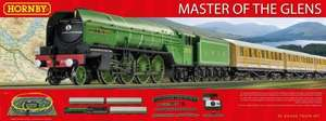 Hornby Master of The Glens 00 Gauge Train Set £75.39 @ Amazon