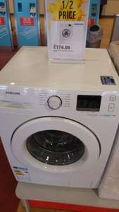 Samsung WF70F5E0W2W 7KG EcoBubble Washer - £174.99 in store at Argos