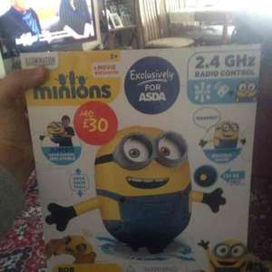 minion radio control inflatable £10 @ asda instore