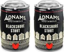 Adnams Blackshore Stout 5L mini-kegs x 2 £33.98 incl delivery