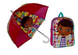 Disney Doc McStuffin backpack and umbrella set £3.99 at Argos