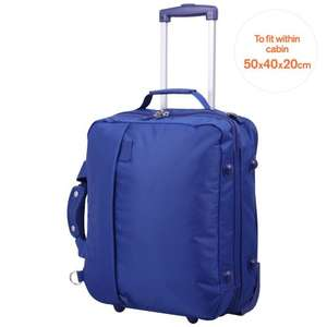Tripp Pillo 2 wheel cabin suitcase @ Trip Blue cross SALE 70% off £22 @ Tripp online / Debenhamds instore