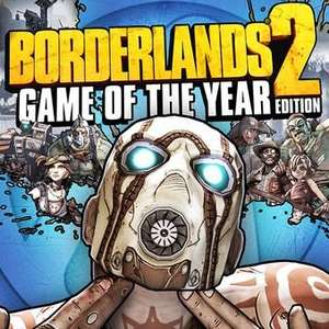 Borderlands 2: Game of the Year Edition (Steam) £5.32 @ Opium Pulses