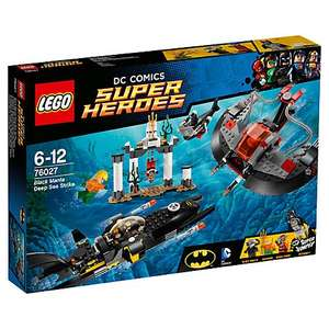 Lego Superheroes Black Manta Deep Sea Strike 76027 £31.99 free c&c @ John Lewis