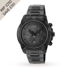 Citizen Chronograph Mens Watch  AT2265-50H £99 Goldsmiths
