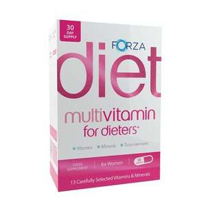 Forza Multivitamin for Dieters (Women) - 30 Capsules £2.50 + FREE delivery @ Beauty Expert