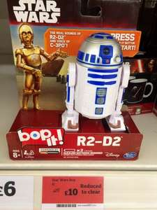 Star Wars R2D2 Bop It £10 @ Sainsbury's