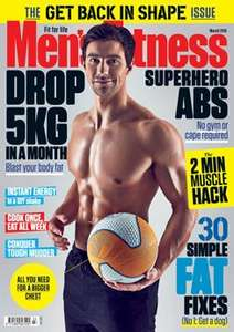 Mens Fitness Magazine Subscription 60% Off (£19.99 for 12 months)
