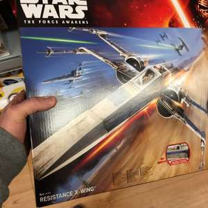 Star Wars x wing resistance fighter £12.50 in asda