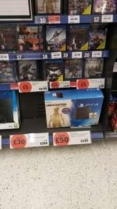 PS4 Uncharted pack 500gb £249 @ Sainsburys