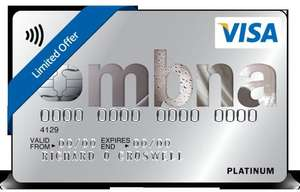 MBNA credit card 0% on balance transfers for up to 39 months