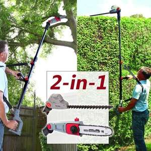 Eckman 2 in 1 hedge trimmer and chain saw,  £117 @ Eckman