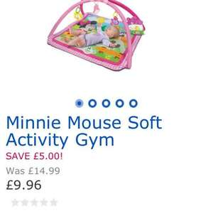 Minnie Mouse Soft Activity Gym £9.96 toys r us free c+c