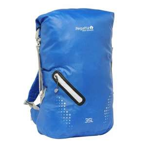 Regatta Hydrotech waterproof 25-35 litre rucksack £7.95 reduced from £40 - £11.90 delivered @ Regatta Outlet