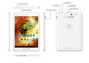 Refurbished Goclever Quantum 785 £30 (In White or Black) from Tesco Outlet on Ebay - Android 7.85 inch Tablet with 8GB Storage and 1GB RAM