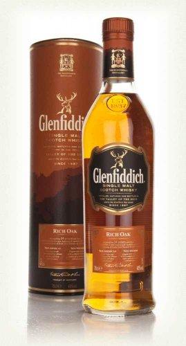 Glenfiddich Rich Oak Single Malt 14 yrs 70lcl, now £25 (was £39) @ Asda