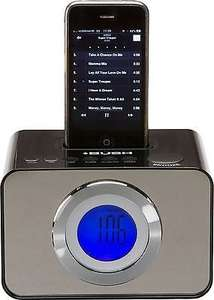 Bush LCD Alarm Clock (FM/AM Radio with iPod Dock) £7.99 Delivered @ Argos Via eBay
