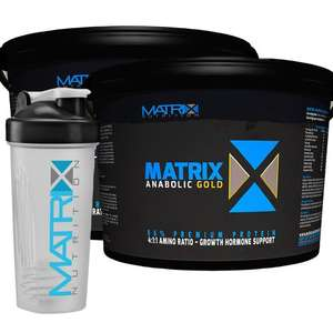 10 KG of Protein - MATRIX ANABOLIC GOLD WHEY Ebay / matrix-nutrition