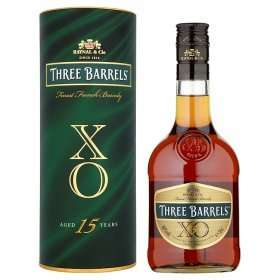 Three Barrels - XO 15 Year Old - French Brandy 50cl Bottle £10 ASDA instore only - Edinburgh