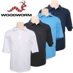 Woodworm Golf Shirts 4 for £19.99 less than £4 a Shirt @ TheSportsHQ Price Includes Delivery