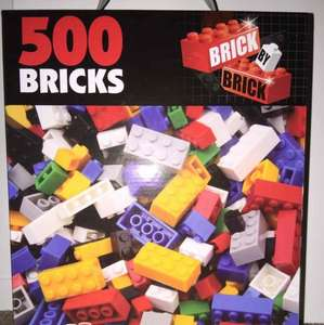 500 Bricks (like Lego) £1 @ B&M