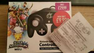Nintendo super smash bros gamecube controller brand new for £9.99 Game instore