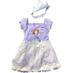 Disney Sofia the First Girls' Nightdress, Ages 18-24 Months To 4-5 Years, £3.49 @ Argos