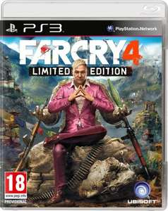 Far Cry 4 Limited Edition Ps3 - £10 @ Tesco