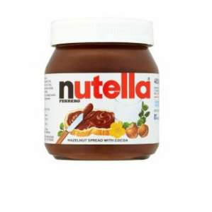 Nutella Hazelnut Chocolate Spread 400G  £1.75 from 3rd @ Tesco
