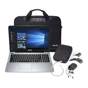 "15.6"" Asus X555LA Laptop, Core i5 5200U 2.7 GHz, Full HD 1080p, 8GB RAM, 1TB HDD, DVD±RW, AC WiFi + BT 4.0, Windows 10 at Scan.co.uk £399.98 + £4.79 delivery @ Scan"