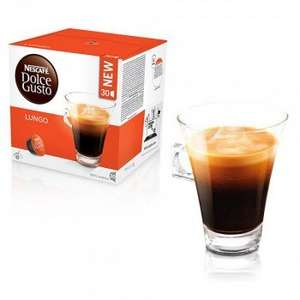 Direct from Nescafe - Dolce Gusto larger 'Magnum' 30 pod boxes £7.11 plus free delivery on minimum spend and free Cafe Au Lait when 8 boxes ordered AND a subscription deal.