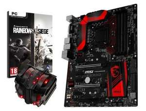 MSI Z170A Gaming M5 Motherboard + Free Cooler Master V8 Cooler + Free Rainbow 6 Siege £149.99 (£129.98 after poss cashback) @ Box.co.uk