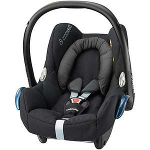 Maxi-Cosi Cabriofix Group 0+ Car Seat - Black Raven - £89.99 Amazon - Lowest price ever!