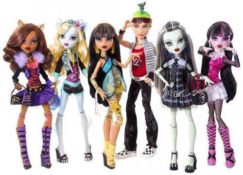 Monster high dolls now £2 @ tesco instore