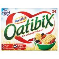 Weetabix Oatibix Cereal 24 Pack @ Tesco Half Price Was £2.69 Now £1.34