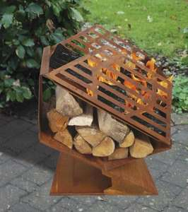 Small Outdoor Fireplace and Woodstore .£21.54 Delivered @ Amazon