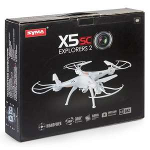 Syma X5C Quadcopter (UK stocked and dispatched) £49.99 @ hawkins bazaar