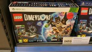 Lego dimensions xbox360 xbox1 and ps1 £50 @ Sainsbury's in store