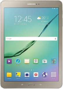 Samsung Galaxy Tab S2 Gold Edition T810N 24.6 cm (9.7 inches) Tablet PC WiFi (2 quad-core processors, 1.9GHz + 1.3GHz, 3GB RAM, 32GB, Android 5.0) gold £297 @ Amazon.de