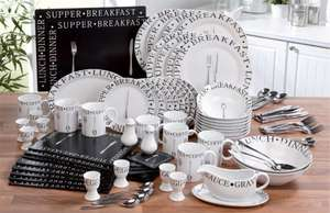 IDEAL STARTER-8 PLACE SETTING £54.99 @ Ace